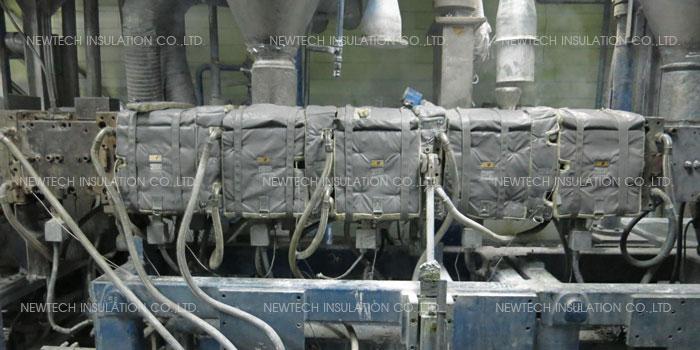 ฉนวนกันความร้อนอุตสาหกรรมพลาสติกเคมีภัณฑ์