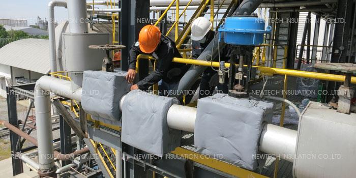 ฉนวนกันความร้อนโรงงานผลิตกระแสไฟฟ้า